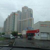 Photo taken at Михневская улица by Antonio🎗 R. on 5/27/2013