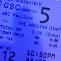 Photo taken at Golden Screen Cinemas (GSC) by Louis T. on 2/28/2013