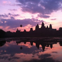 Photo taken at Angkor Wat by Bea C. on 10/28/2012