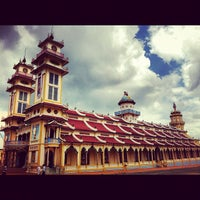 Photo taken at Cao Dai Holy See by Bea C. on 11/2/2012