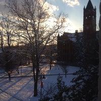 Photo taken at Gettysburg College - Pennsylvania Hall by Lynn B. on 12/10/2013