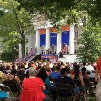 Photo taken at Gettysburg College - Pennsylvania Hall by Lynn B. on 8/21/2013