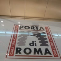 Photo taken at Galleria Commerciale Porta di Roma by BuzzInRome on 1/7/2013