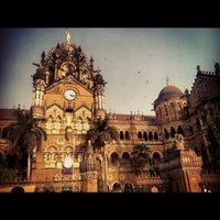 Photo taken at Chhatrapati Shivaji Terminus by Sohail A. on 11/22/2012