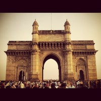 Photo taken at Gateway of India by Sohail A. on 11/22/2012