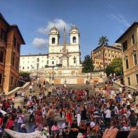 9/8/2013にSohail A.がScalinata di Trinità dei Montiで撮った写真