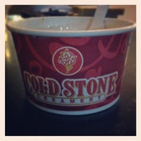 Photo taken at Cold Stone Creamery by Jeremy Z. on 1/9/2013