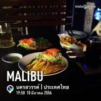 Photo taken at Malibu Bar&Restaurant by Bkizz B. on 3/10/2013
