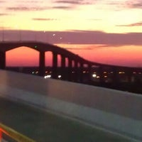 Photo taken at South Norfolk Jordan Bridge by Tammy B. on 10/24/2012