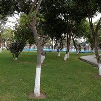 Photo taken at Parque F. De las casas by Rob Miguel ר. on 4/23/2013