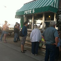 Photo taken at Pete's Hamburger Stand by Amanda H. on 9/30/2012