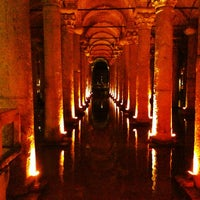 Photo taken at Basilica Cistern by Sam R. on 6/6/2013