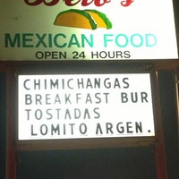 Photo taken at Beto's Mexican Food by James P. on 1/4/2013