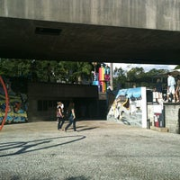 Foto tirada no(a) Museu Brasileiro da Escultura (MuBE) por Camila P. em 2/16/2013