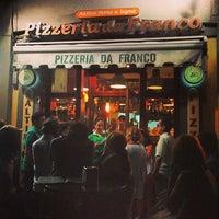 Photo taken at Pizzeria da Franco by carcher 8. on 8/17/2013