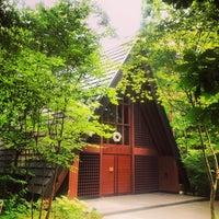 Photo taken at 軽井沢高原教会 by Naotake N. on 7/20/2013
