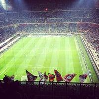 "Photo taken at Stadio San Siro ""Giuseppe Meazza"" by D isforDavy on 4/14/2013"