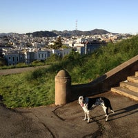 Photo taken at Alta Plaza Park by Raul K. on 4/23/2013