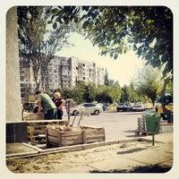 Photo taken at Автостоянка Зодчий by Андрей М. on 5/16/2013