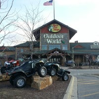 Photo taken at Bass Pro Shops by Sarah W. on 4/3/2013