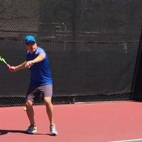 Photo taken at Gates Tennis Center by Rich R. on 4/21/2016