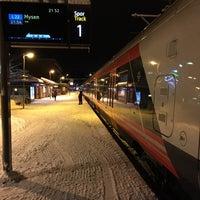 Photo taken at Ski stasjon by Jan S. on 1/11/2016