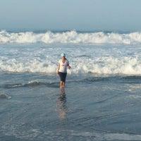 Photo taken at Playa Larga by Victoria on 3/29/2015
