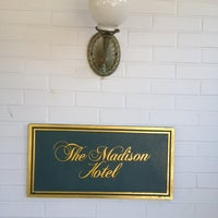 Photo taken at The Madison Hotel by Emmanuel F. on 9/16/2012