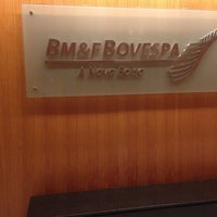 Photo taken at BM&F Bovespa by Gabriella P. on 12/2/2014