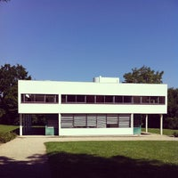 Photo taken at Villa Savoye by Marcelo D. on 6/7/2013