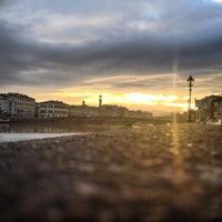 Photo taken at Piazza Del Cestello by Dario C. on 2/12/2013