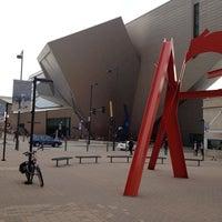 Photo taken at Denver Art Museum by Dario C. on 11/8/2013