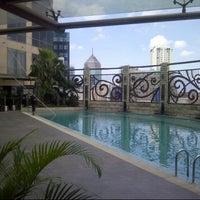 Photo taken at Lt 6 Ballroom Meritus Hotel by Tatang M. on 4/22/2013