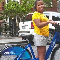 Photo taken at Citi Bike Station by Karen on 6/8/2013
