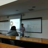 Photo taken at Facultad Comunicación y Letras UDP by Julio M. on 10/24/2012