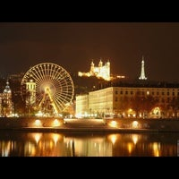 Photo taken at Place Bellecour by J. B. on 11/11/2012