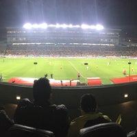 Photo taken at Estadio Morelos VIP by Mar L. on 3/5/2017