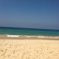 Photo taken at Karon Beach by Annett on 1/16/2013