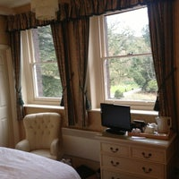 Photo taken at Gliffaes Country House Hotel Powys by Jamie M. on 2/23/2013
