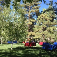 Photo taken at Wrightwood Guest Ranch by Claire S. on 8/24/2013