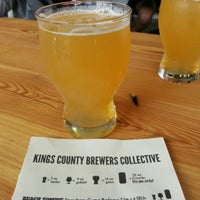 Photo taken at Kings County Brewers Collective by Michael G. on 9/3/2016
