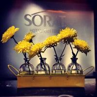 Photo taken at SORAT Hotel Cottbus by Ellen B. on 4/21/2013
