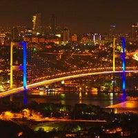 Photo taken at Bosphorus Bridge by BT T. on 10/31/2013