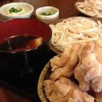Photo taken at おやじのうどん旬 by Panda c. on 10/13/2012