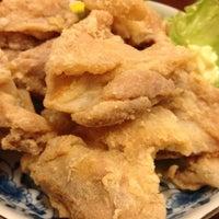 Photo taken at おやじのうどん旬 by Panda c. on 10/27/2012