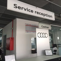 Photo taken at Audi Service Center by F on 5/21/2016