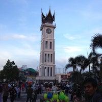 Photo taken at Jam Gadang by Pradnya P. on 11/16/2012