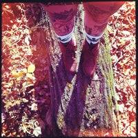 Photo taken at Hocking Hills State Park by Kelley B. on 10/25/2012