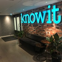 Photo taken at Knowit by Stein O. on 1/30/2018