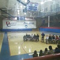 Photo taken at Davenport Central High School by Jennifer S. on 12/5/2013